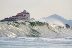Praia de Itauna. Foto: WSL / Smorigo.
